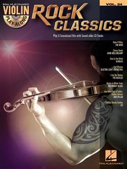 Violin Play-Along Volume 24: Rock Classics