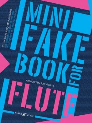 Adams Sally : Mini Fake Book for Flute