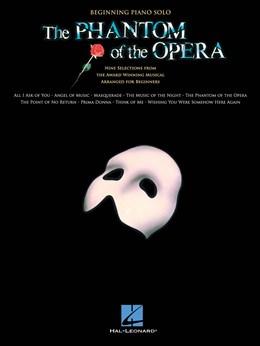 The Phantom Of The Opera - Beginning Piano Solo