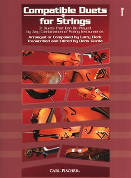Clark Larry : Compatible Duets For Strings - Double Bass