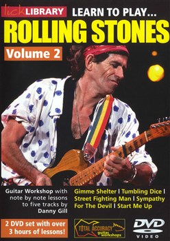 Learn To Play Rolling Stones - Vol.2