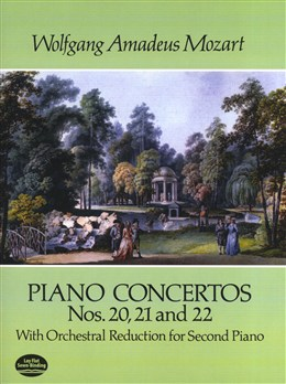 Mozart Wolfgang Amadeus : Piano Concertos Nos. 20, 21 And 22
