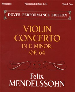 Mendelssohn Bartholdy Felix : Violin Concerto In E Minor Op.64