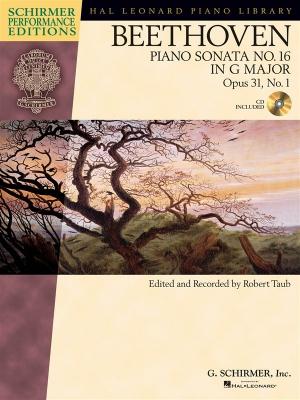 Piano Sonata #16 In G Op. 31 #1 (Schirmer Performance Edition)