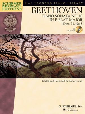 Piano Sonata #18 In E Flat Op. 31 #3 (Schirmer Performance Edition)