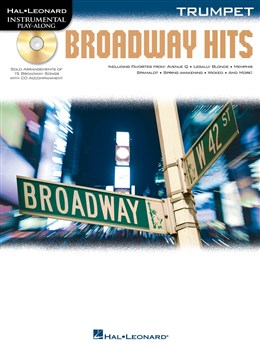 Trumpet Play-Along: Broadway Hits