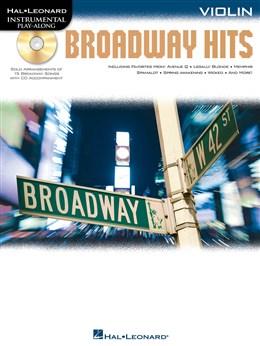 Violin Play-Along: Broadway Hits