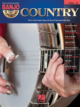 Banjo Play-Along Volume 2: Country