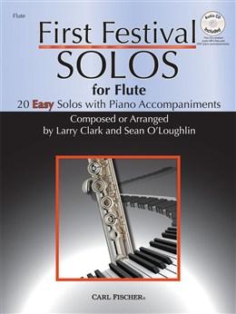 Clark Larry / O'Loughlin Sean : First Festival Solos - Flute