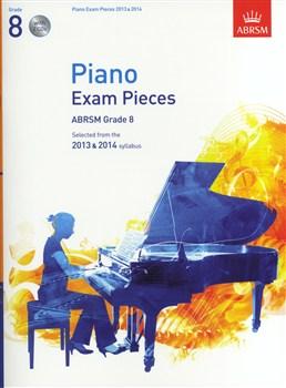 ABRSM Selected Piano Exam Pieces: 2013-2014 (Grade 8 - Book/CD)