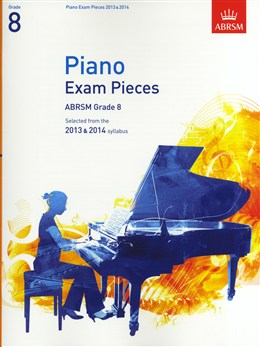 ABRSM Selected Piano Exam Pieces: 2013-2014 (Grade 8 - Book Only)