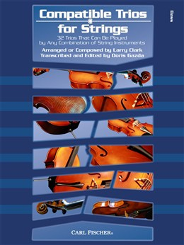 Clark Larry : Compatible Trios for Strings - Double Bass