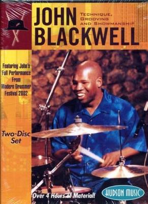 Dvd Blackwell John Tech Groove Showman
