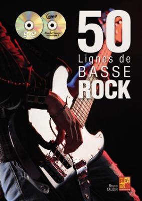 Tauzin Bruno : 50 lignes de basse rock