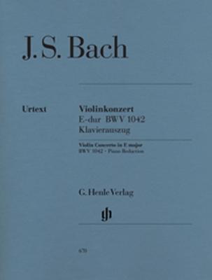Bach Johann Sebastian : Concerto pour violon en Mi majeur BWV 1042