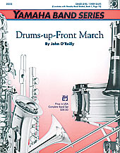 O'Reilly J. : Drums-up-Front March