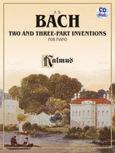 Bach Johann Sebastian : Two and Three-Part Inventions