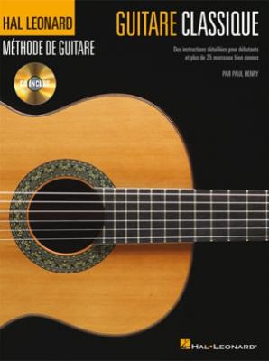 METHODE DE GUITARE CLASSIQUE / Paul Henry