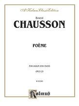 Chausson Ernest : Poeme