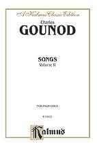 Gounod Charles : Songs, Volume II