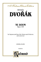 Dvorak Antonin : Te Deum, Op. 103