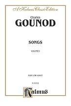 Gounod Charles : Songs, Volume I