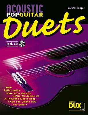 Langer Michael : Acoustic Pop Guitar Duets