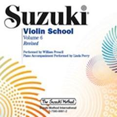 Suzuki Violin School Cd, Vol.6 (Revised)