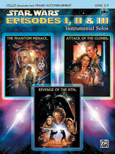 Williams John : Star Wars: Episodes I, II and III Instrumental Solos for Strings