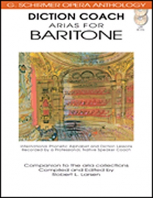 Diction Coach - G. Schirmer Opera Anthology (Arias For Baritone)