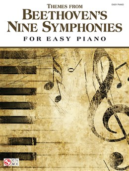 Beethoven Ludwig Van : Themes From Beethoven's Nine Symphonies (Easy Piano)