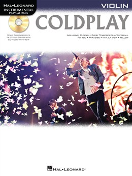 Coldplay : Violin Play-Along: Coldplay