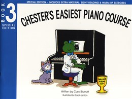 Barratt Carol : Chester's Easiest Piano Course - Book 3 (Special Edition)