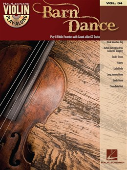 Violin Play-Along Volume 34: Barn Dance
