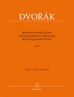 Dvorak Antonin : Piano Quartet E-flat major op. 87