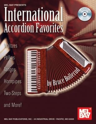Bollerud Bruce : International Accordion Favorites