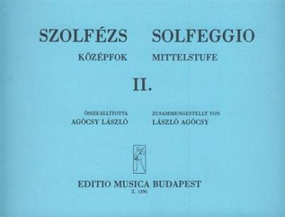 Solfeggio Vol.2 Solfège