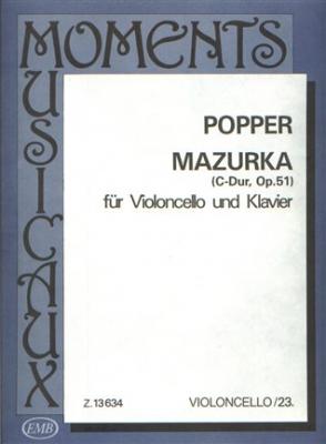 Popper David : MAZURCA DO OP. 51