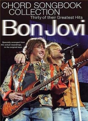 Bon Jovi : Bon Jovi Chord Songbook Collection Lc
