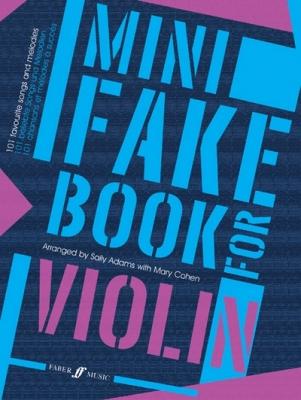 Adams Sally / Cohen Mary : Mini Fake Book for Violin