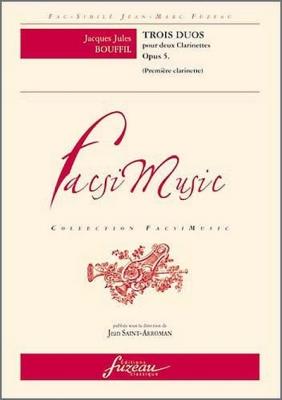 3 Duos Pour Deux Clarinettes. Op. 5.