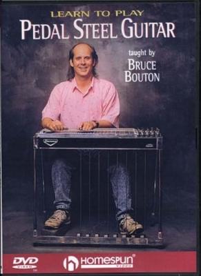 Dvd Pedal Steel Guitar Bruce Bouton