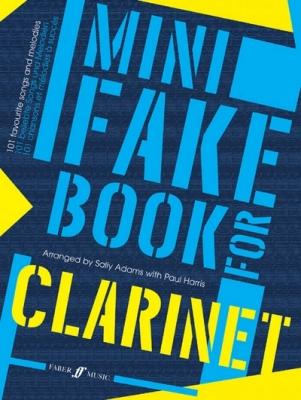 Adams Sally / Harris Paul : Mini Fake Book for Clarinet