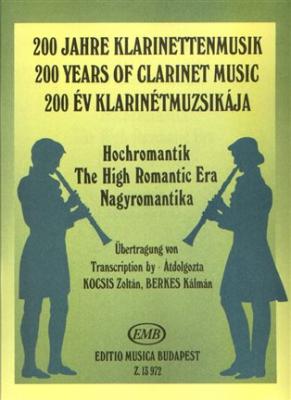High Romantic Era Clarinet And Piano