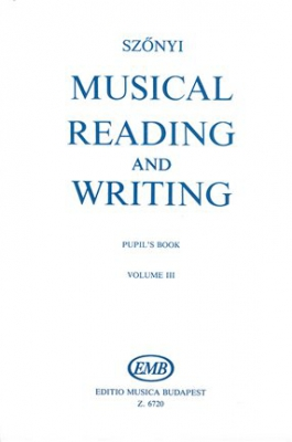 Musical Reading And Writting Vol.3