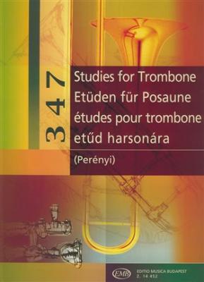 347 Etudes For Trombone