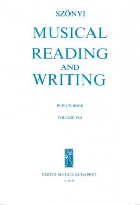 Musical Reading And Writing Vol.8 Solfège