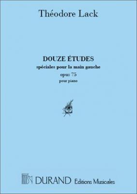 12 Etudes Main Gauche
