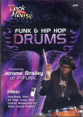Dvd Rock House Funk And Hip Hop Drums