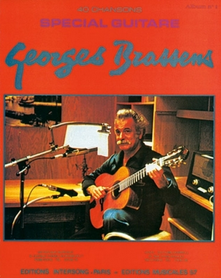 Brassens Georges : 40 CHANSONS GUITARE V.1